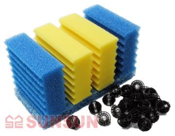 Sunsun Фильтр проточный прудовый Sunsun CBF 350