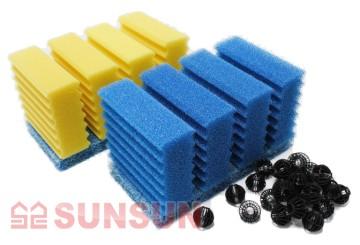 Sunsun Фильтр проточный прудовый Sunsun CBF 350 B