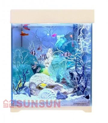Sunsun Аквариум с крышкой Sunsun AT 250D