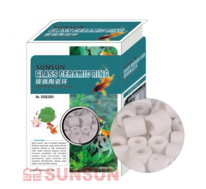 Sunsun Керамические кольца Sunsun Glass Ceramic Ring, 500 гр