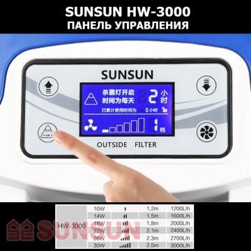 Sunsun Внешний аквариумный фильтр Sunsun HW-3000